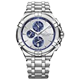 Maurice Lacroix Men's 'Aikon' Swiss Quartz Stainless Steel Casual...