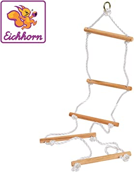 Eichhorn 100004504 - Escalera de Cuerda para Actividades al Aire ...