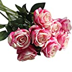 Artificial-FlowersArtificial-Fake-Roses-Flannel-Flower-Bridal-Bouquet-Wedding-Party-Home-Decor-E-Home-Dcor-Products-Artificial-Plants-Home-Improvement-Floral-Picks