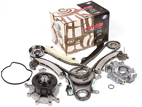 Evergreen TK5037LWOP 04-07 Mitsubishi Jeep Dodge 3.7L Timing Chain Kit Water Pump Oil Pump (NGC Cam Gear)