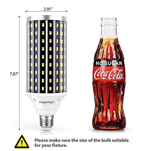 50W Super Bright LED Corn Light Bulbs(400 Watt Equivalent) - E26/E39 Mogul Base LED Bulbs - 6500K Daylight 5000 Lumens… 3