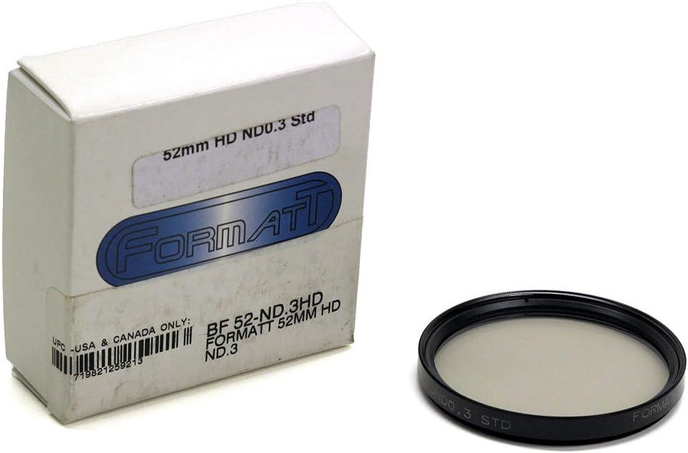 Formatt Hitech HD ND .3 52mm Neutral Density Filter BF 52-ND.3HD 0.3 STD