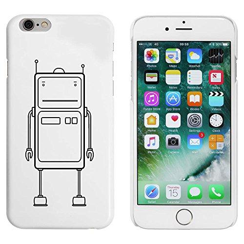 Blanc 'Robot' étui / housse pour iPhone 6 & 6s (MC00005778)