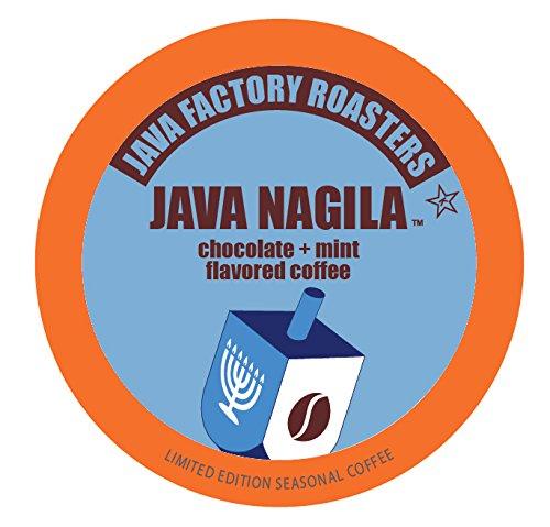 Java Factory Holiday Seasonal Single Cup Coffee, Java Nagila, 40 Count