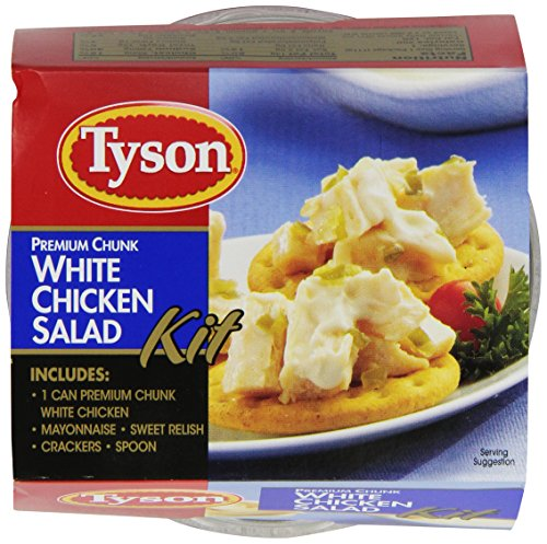 (Tyson Premium Chunk White Chicken Salad Kit, 4.57 Ounce (Pack of 12))