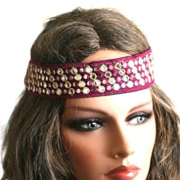Amazon.com   Hippie Style Headband   Fashion Headbands   Beauty cb5094856c4