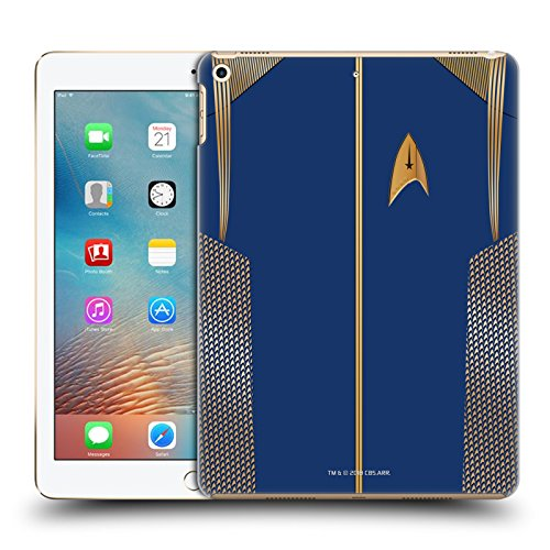 Official Star Trek Discovery Captain Uniforms Hard Back Case for iPad 9.7 2017 / iPad 9.7 2018 ()
