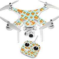 MightySkins Protective Vinyl Skin Decal for DJI Phantom 3 Standard Quadcopter Drone wrap cover sticker skins Orange You Glad