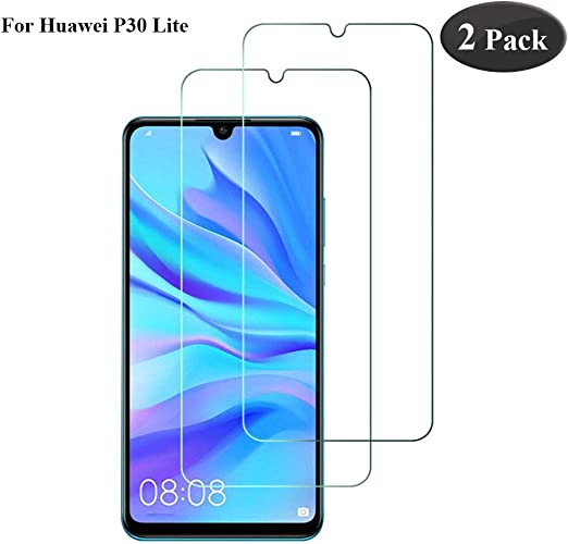 Seomusen Protector de Pantalla Compatible con Huawei P30 Lite [2 ...