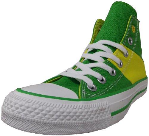 Converse Unisex National Orgoglio Sneaker Giungla Verde / Oasi Gialla