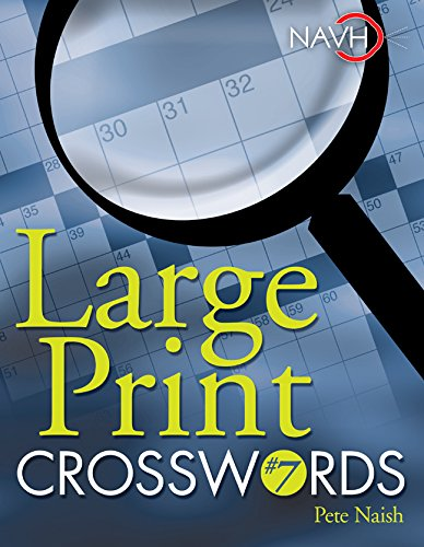 Large Print Crosswords #7, used for sale  Delivered anywhere in USA