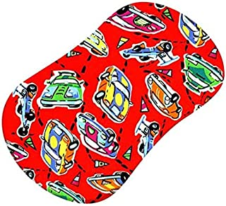 product image for Race Cars Fitted Bassinet Sheet
