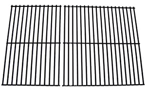 Music City Metals 50912 Porcelain Steel Wire Cooking Grid Set Replacement for Select Gas Grill Models by Arkla, Charmglow and Others