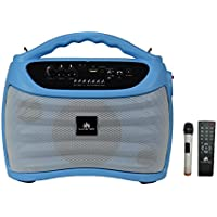 Audster AUD-M500 Portable Wireless Bluetooth Rechargeable 700W Speaker (Blue) Compatible with/ for iphone 7 iphone 6S iphone 6 iphone 5 5S 5C 4S 4 Galaxy 7.0 Galaxy A9 Pro Galaxy S7 edge On5