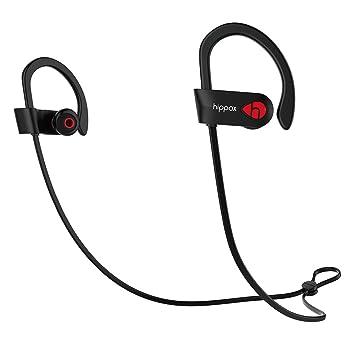 Auriculares Bluetooth 4.1,HIPPOX [Certificación Anti-Agua IPX7] Cancelación de Ruido Cascos
