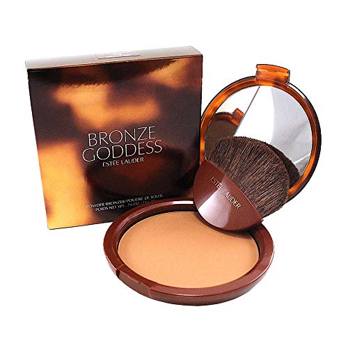 Estee Lauder Bronze Goddess No. 03 Medium Deep Powder Bronzer for Women, 0.74 Ounce