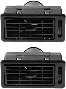 2 Pieces Heat AC Air Exhaust Vent Dash Ventilation Outlet Conversion Kit for Camper RV Motorhome
