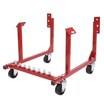 1000lb Auto Engine Cradle Stand WithDolly Wheels Fit for Chevrolet Chevy: Automotive