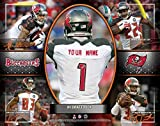 Photo File Action Collage Tampa Bay Buccaneers Unframed Poster 14x11 Inches