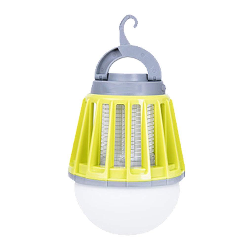 vert  Camping Lantern Moustique Tente Lumière portable Et IPX6 étanche 2000 MAh Batterie Rechargeable Crochet Rétractable Et Abat-Jour Amovible vert