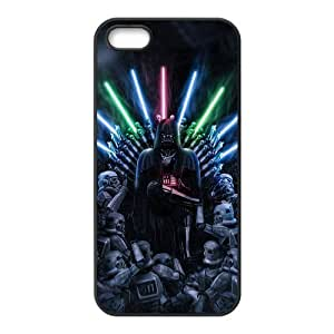 Star Wars Design Solid Rubber Customized Cover Case for iPhone 5 5s 5s-linda364