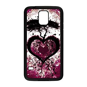 Case Of Love Pink Customized Case For SamSung Galaxy S5 i9600