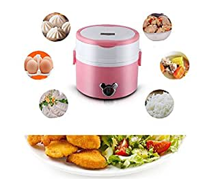 Multifunctional electric cooking lunch box Plug-in heating lunch box Multifunctional cooking lunch box Small household appliances