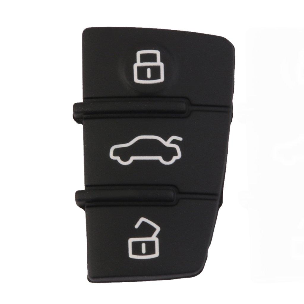 C/áscara Funda Llave Romota Reemplazo 3 Teclado Para Audi A3 A4 A5 A6 A8