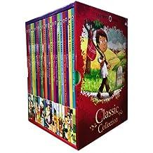 Ladybird Classic Collection (22 books: Cinderella, Gingerbread Man, Goldilocks & Three Bears, Hansel & Gretel, Jack and the Beanstalk, Little Red Riding Hood, Rapunzel, Snow,white and the Seven Dwarfs, Three Billy Goats Gruff, Etc)