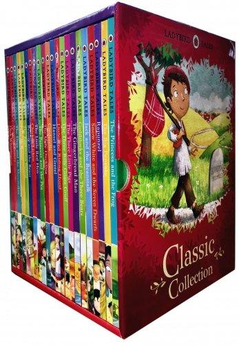 Ladybird Classic Collection (22 books: Cinderella, Gingerbread Man, Goldilocks & Three Bears, Hansel & Gretel, Jack and the Beanstalk, Little Red Riding Hood, Rapunzel, Snow,white and the Seven Dwarfs, Three Billy Goats Gruff, Etc) Hardcover – 201