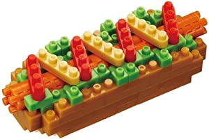 Nanoblock Hot Dog Building Kit