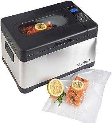 VonShef Premium 8 Liter Sous Vide/Water Oven Machine Kit - 7 Quart