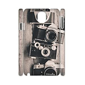 Cameras 3D-Printed ZLB596456 DIY 3D Cover Case for Samsung galaxy note 3 N9000