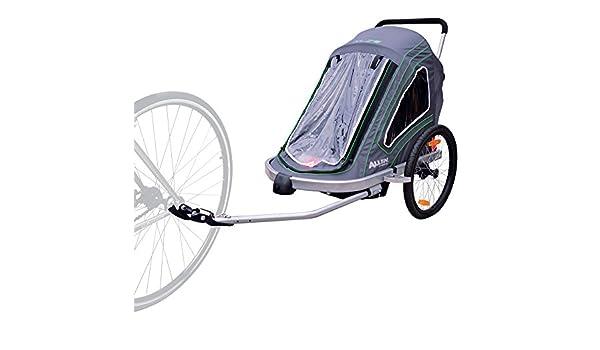 Allen deportes aluminio 2 niño remolque/Single y doble giratorio rueda carrito: Amazon.es: Deportes y aire libre
