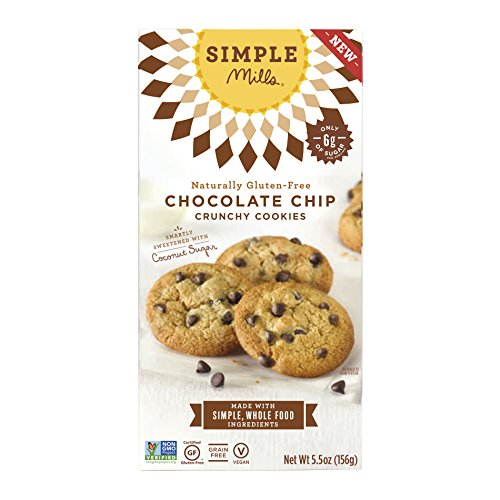 Chocolate Chip Cookie Vitamins (Simple Mills Naturally Gluten-Free Crunchy Cookies, Chocolate Chip, 5.5 oz)