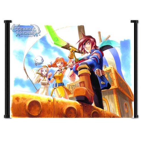 Skies of Arcadia Game Fabric Wall Scroll Poster (21'x16') Inches
