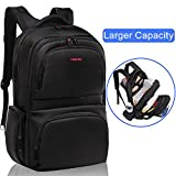 Kuprine Slim Business Lightweight Laptop Backpack for Men Women, Anti Theft Water Resistant Travel Bag School College Backpack Up to 17 Inch Laptops