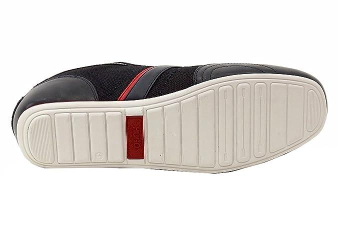 5640dfd71dc BOSS Hugo pour Homme Chaussures Sneakers Thatoz Bleu foncé Baskets Red Label  - Bleu - Bleu