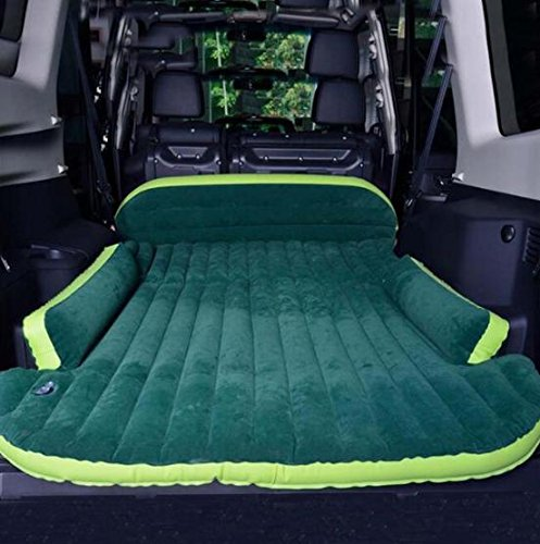 Inflatable Mattress - Seat Travel Bed Air Mattress With Air Pump Outdoor Camping Moisture-proof Pad