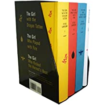 Stieg Larsson's Millennium Trilogy Deluxe Box Set: The Girl with the Dragon Tattoo, The Girl Who Played with Fire, The Girl Who Kicked the Hornet's Nest, Plus On Stieg Larsson