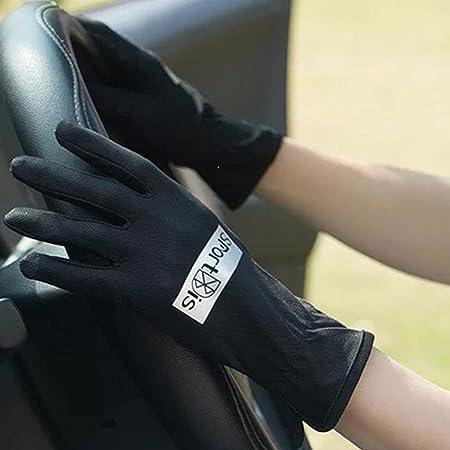 Yoaodpei Verano protector solar guantes femenino elástico ...