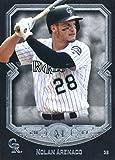 2017 Topps Museum #9 Nolan Arenado Colorado Rockies Baseball Card