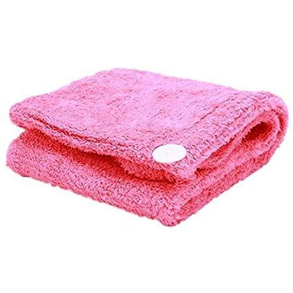 Bath flor toalla de pelo de microfibra de – de secado rápido toalla para secar el