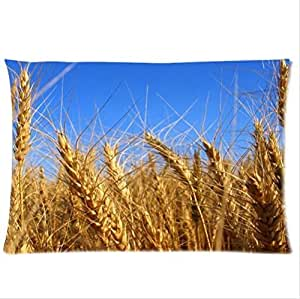Beauty Belongs To Barley-Barley Pillowcase,Twin Sides Pillowcase Pillow Cover 20x30 inches