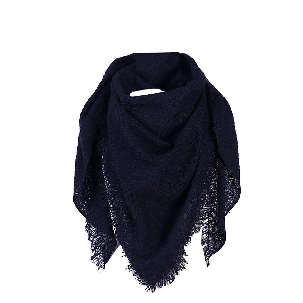 9dcfc7b932b28 OSYARD Femme Echarpe Foulard Châle Serviette triangle Etole Chaud Hiver  210cm Echarpes et foulards
