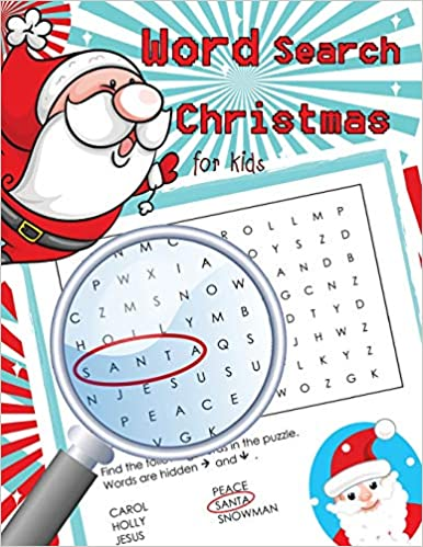 Word Search Christmas For Kids: Word Search Books For Kids Ages 6-8 por V Art epub