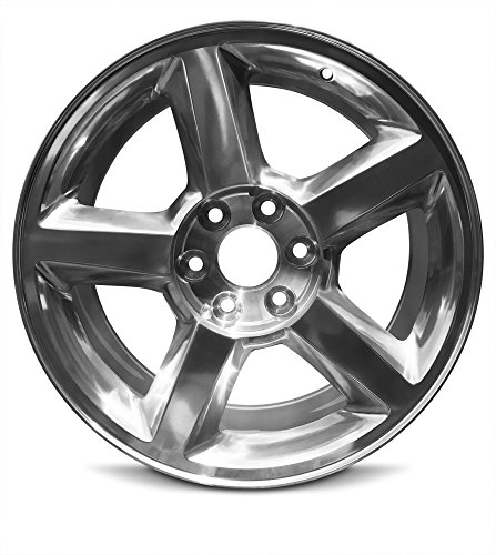 (Road Ready Car Wheel For 2007-2009 Chevrolet Avalanche 1500 Silverado 1500 Suburban 1500 Tahoe 20 Inch 6 Lug Silver Aluminum Rim Fits R20 Tire - Exact OEM Replacement - Full-Size Spare)