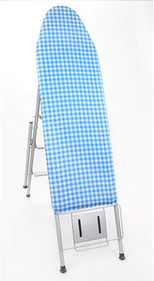 Tabla de planchar plegable, Ahorro de espacio Rígida Heavy duty Resistente al calor Antideslizante Cubierta del algodón 4 piernas Tablas de planchar Utilizado como escalera-B 106x34x85cm(42x13x33inch): Amazon.es: Hogar