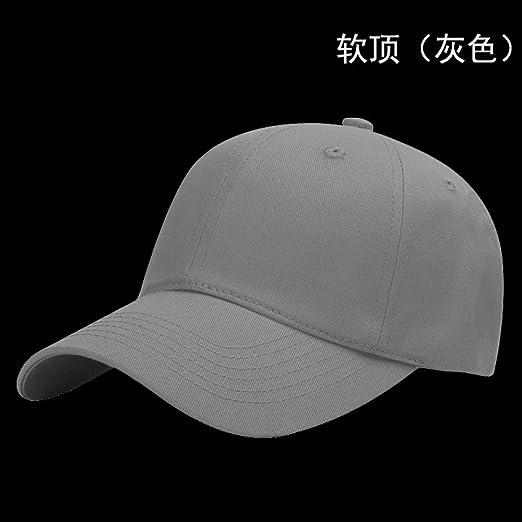 zlhcich Sombreros de Bola Color sólido Gorra Sombrero Bordado ...