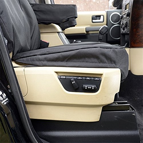 UK Custom Covers SC191-SC157B Tailored Heavy Duty Waterproof Front /& Rear Seat Covers Black